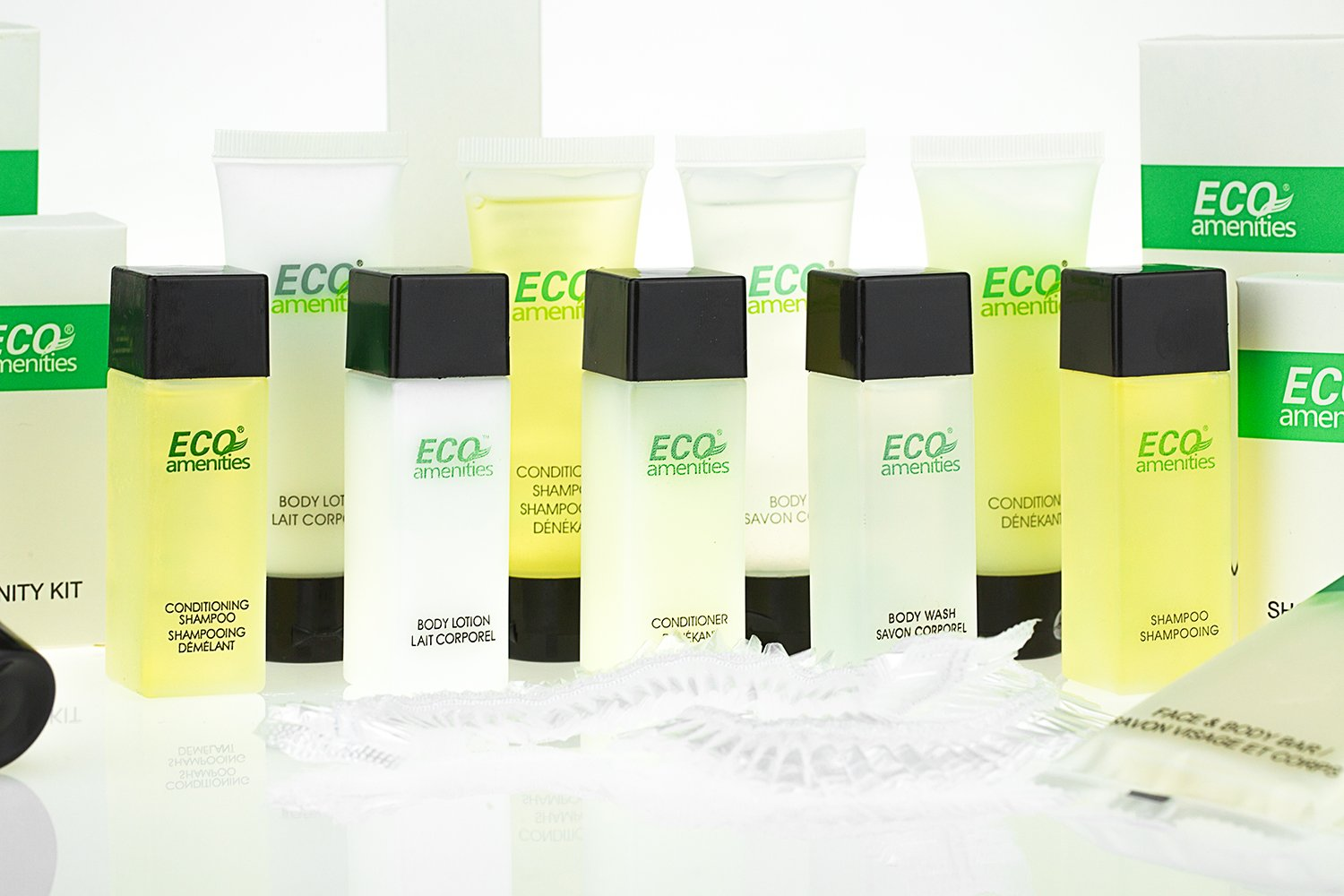 ECO AMENITIES Travel Size Bottle Hotel Conditioner Bulk, White, 1 Ounce, 288 Count by ECO Amenities (Image #3)