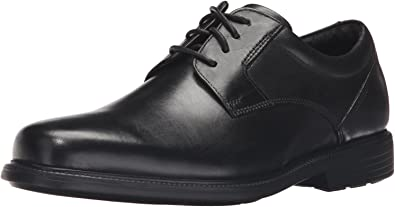 Rockport Men's Charles Road Plain Toe Oxford : Color - Black, Size - 9 (B017MGLOUO)