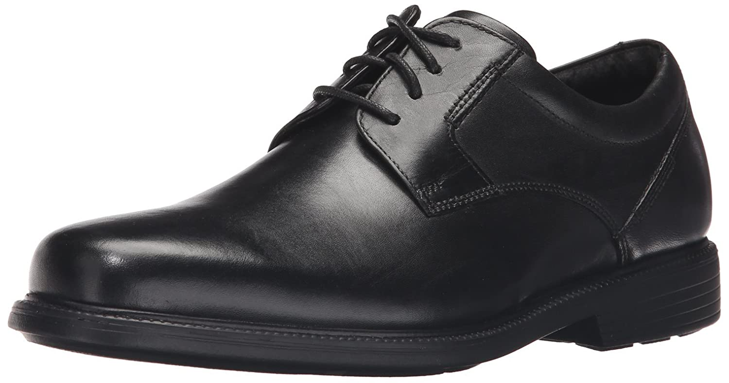 Rockport Men's Charles Road Plain Toe Oxford Oxford Oxford schwarz Leather 6.5 W (EE) 69fa08