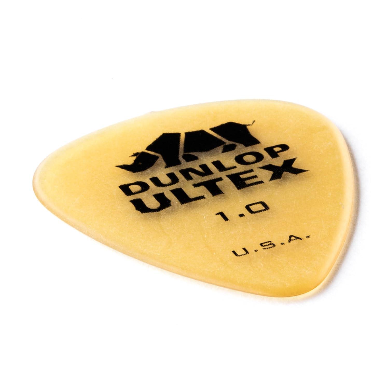 Jim Dunlop 421P114 1.14mm Ultex Guitar Picks, 6-Pack 24421114006
