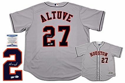 classic fit e7ca3 2432a Jose Altuve Signed Jersey - Majestic - Autographed MLB ...