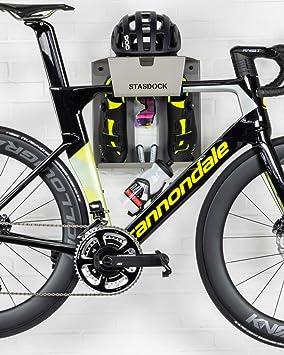Stasdock Almacenamiento de bicicletas - elegante soporte de pared bicicleta -: Amazon.es: Bricolaje y herramientas