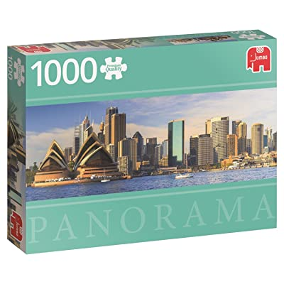 Jumbo Sydney Skyline Panoramic Jigsaw Puzzle (1000 Piece): Toys & Games
