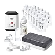 Tommee Tippee Pump and Go Complete Breast Milk Baby Bottle Feeding Starter Set