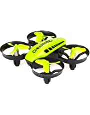 Cheerwing CW10 Mini Drone for Kids WiFi FPV Drone with Camera Remote Control Quadcopter with Altitude Hold and One Key Take-Off/Landing Green