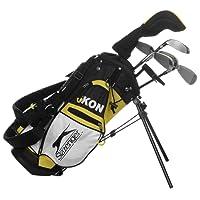 Slazenger Kids Ikon Golf Set Yellow One Size