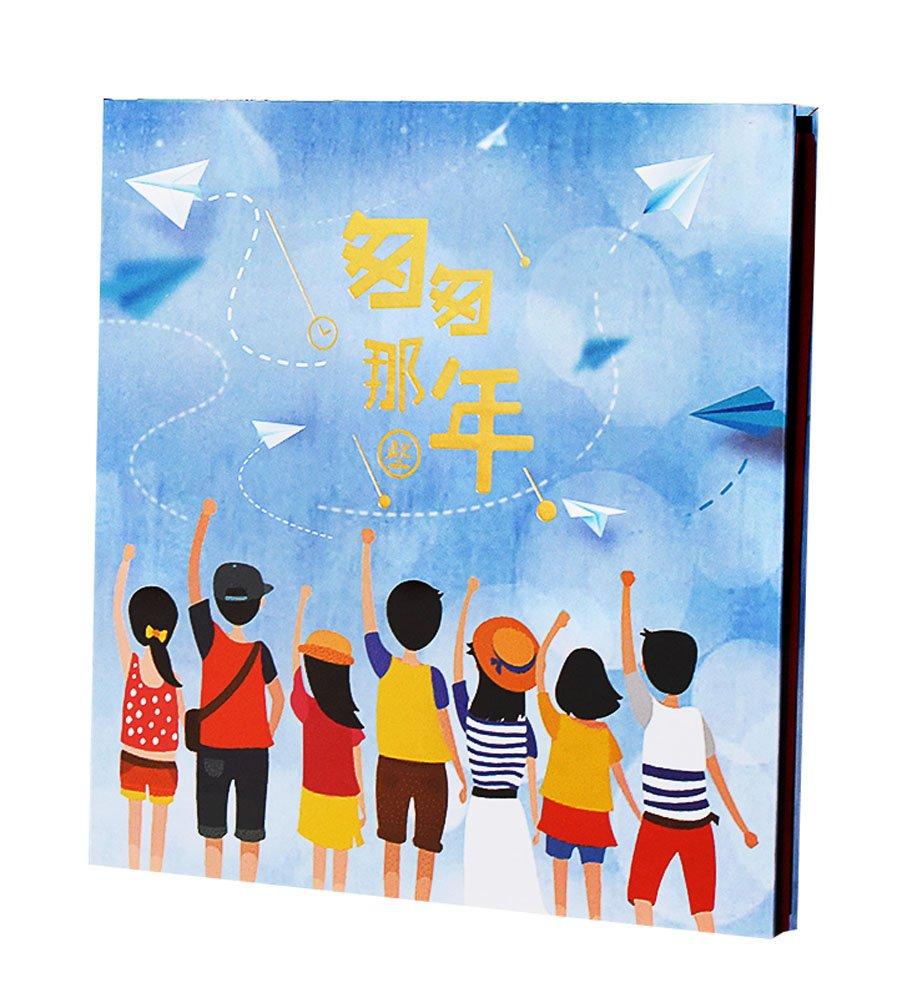Álbum de recortes autoadhesivo del aniversario del álbum de familiar de álbum DIY b9c9a0