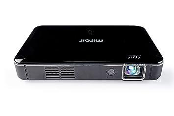 Miroir - Mini proyector HD Pro de 1280 x 720p, Proyector 400 ...