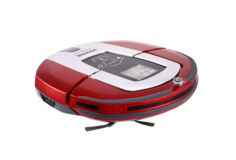 Hoover RBC040 RBC040-Robot Aspirador con Filtro HEPA, hasta 24 Minutos de autonomía, programable semanal, Color metálico, 24 W, 0.5 litros, 24 Decibeles, ...