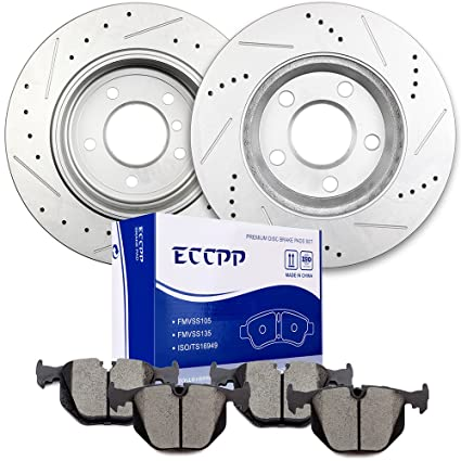 Brakes And Rotors >> Amazon Com Brakes And Rotors Kit Eccpp 2pcs Front Discs