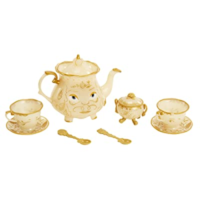 Disney Beauty & The Beast Live Action Enchanted Tea Set Playset: Toys & Games