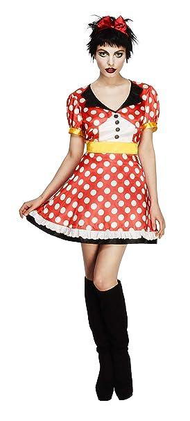 FEVER - Disfraz de ratón para mujer, talla 36-38 (21010S): Smiffys ...