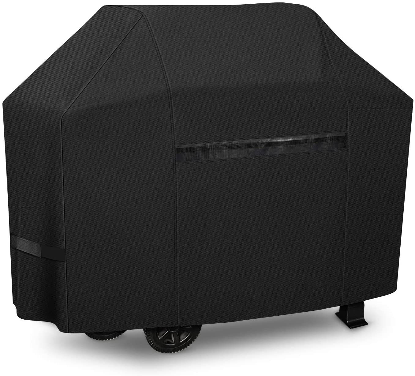 iCOVER Grill Covers 60 inch Gas Barbeque Grill Cover, 600D Heavy Duty Waterproof Canvas, UV Resistant & No Fading, for Weber Char Broil Holland Jenn Air Brinkmann