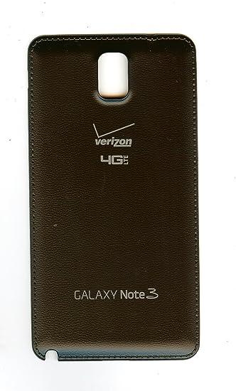 OEM Verizon Galaxy Note III, Note3 SM-N900V battery door, back coverBlack (Renewed)
