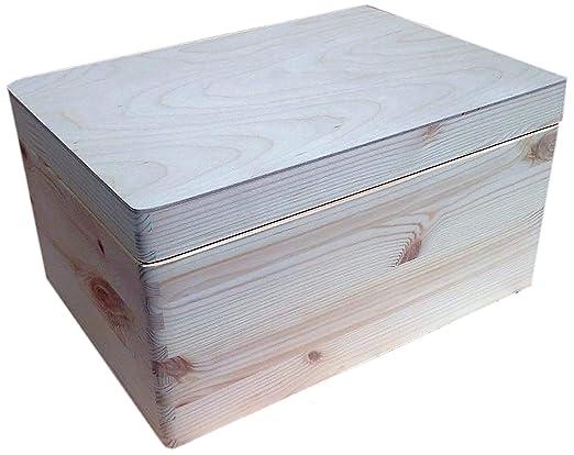 HomeDecoArt - Caja de Herramientas de Madera para el Pecho, con ...