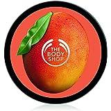 The Body Shop Mango Body Butter unisex, Mango Körperbutter 200 ml, 1er Pack (1 x 200 ml)