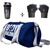 0b1527c06657 5 O  CLOCK SPORTS Gym Bag Combo Set Enclosed With Body Building Polyster Duffle  Gym