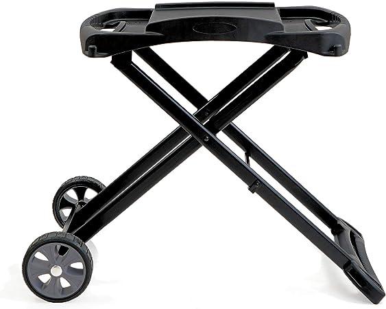 BBQ-Toro Tragbarer Tisch Gasgrill 2 Brennerkompakter Tischgasgrill für Balkon