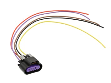 71zZ7Y5PiFL._SX355_ amazon com michigan motorsports 5 wire maf mass air flow sensor OEM Automotive Wiring Harnesses at bayanpartner.co