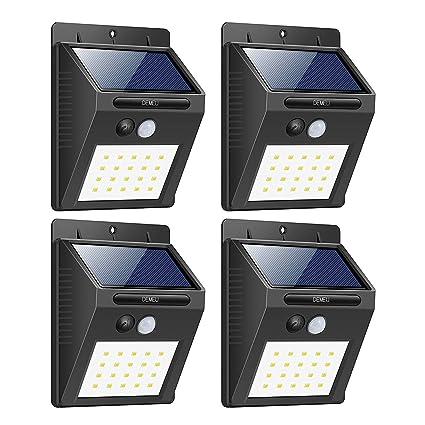 DEMEU 20 LED lights, It takes four shots, Lámparas De Sensor De Movimiento De