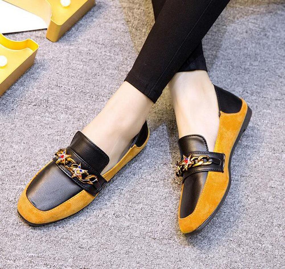 KUKI Zapatos de Carrefour, zapatos planos de mujer zapatos de gamuza diamante informal , 1 , US6.5-7 / EU37 / UK4.5-5 / CN37: Amazon.es: Deportes y aire ...