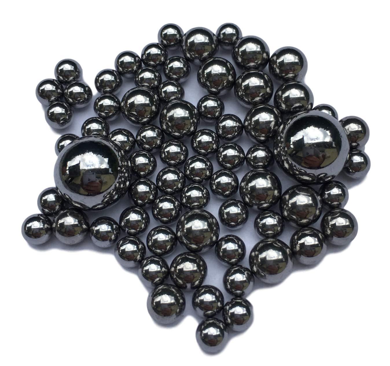Diametro di selezione officina cuscinetti 100 X sfere in acciaio per cuscinetti a sfera /& macchinari 1mm modellismo 0,8 mm fino a 12 mm 1 2 3 4 5 6 7 8 9 10 11 12 mm acciaio cromato temprato
