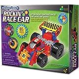 The Learning Journey Techno Gears - Rockin Race Car - STEM 60+Piece Gear Construction Set