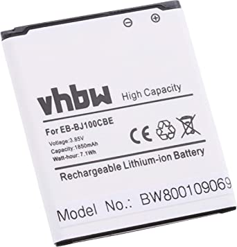 vhbw Li-Ion batería 1850mAh (3.85V) para móvil Smartphone teléfono ...