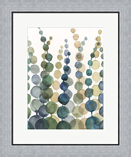 Amazon.com: Pompom Botanical I by Megan Meagher Framed Art Print ...