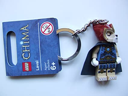 Amazon.com: LEGO Chima Laval Key Chain 850608: Toys & Games