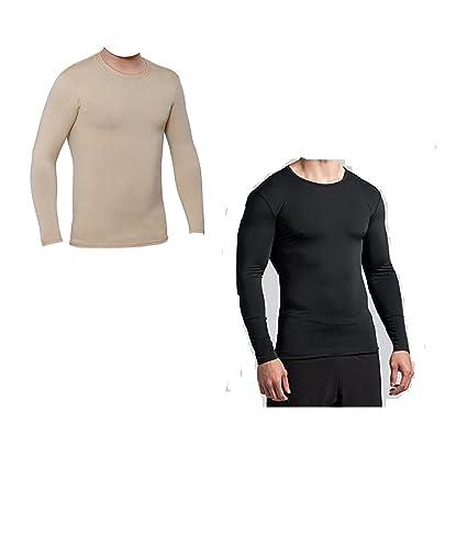 94ac9fc451268 Men's Men's Lite Compression T-shirt Top (Nylon) Skins For Running, Cycling