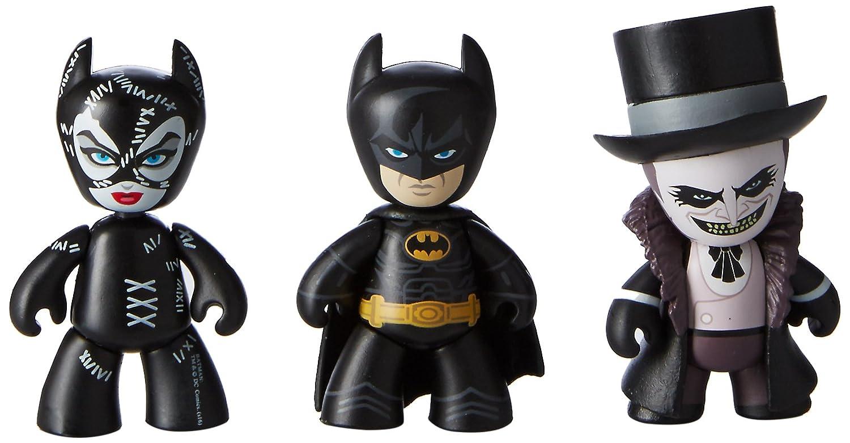 Mezco Mini Mez-Itz Batman Returns-Batman Catwoman The Penguin