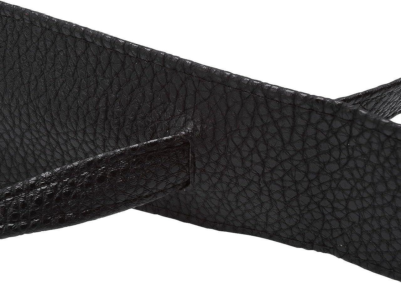 Ayliss Women Soft Leather Obi Belt Self Tie Wrap Cinch Belt