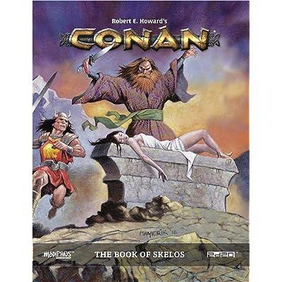 Conan - Book of Skelos: Modiphius Entertainment: Toys & Games