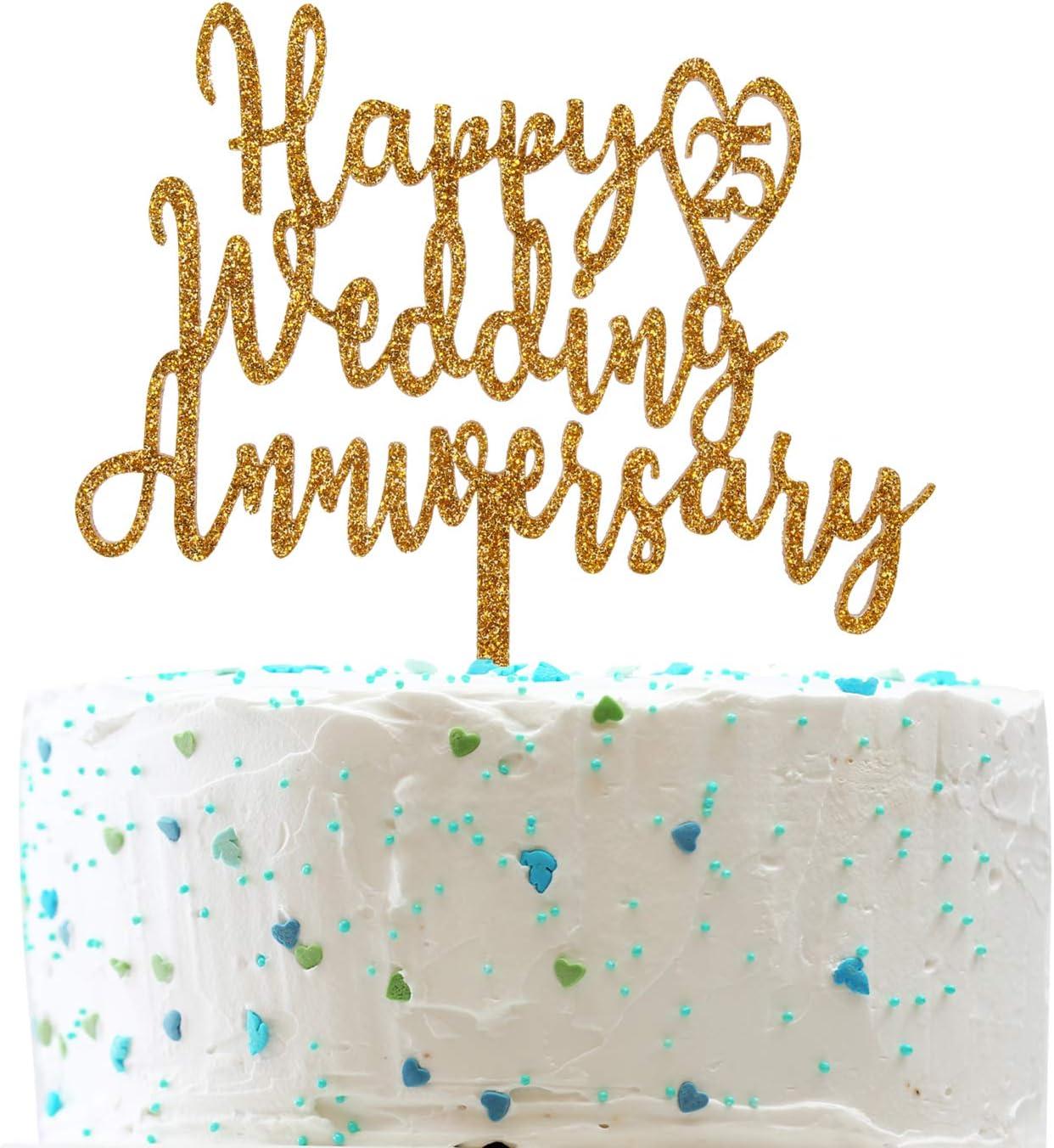 Anniversary Cake Topper Custom