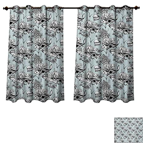 Superb Amazon Com Shabby Chic Blackout Thermal Backed Curtains For Download Free Architecture Designs Xerocsunscenecom