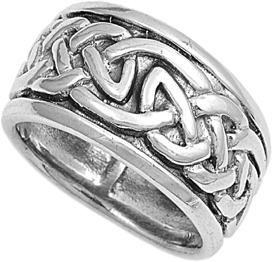 Princess Kylie 925 Sterling Silver Celtic Star Ring