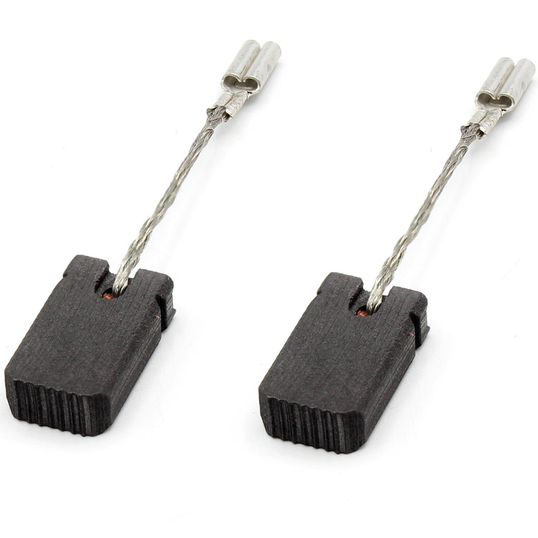 2x Schleifkohle Kohlebürste 5x8x17,5mm für Bosch GWS 10-125 C GWS 10-125 CE