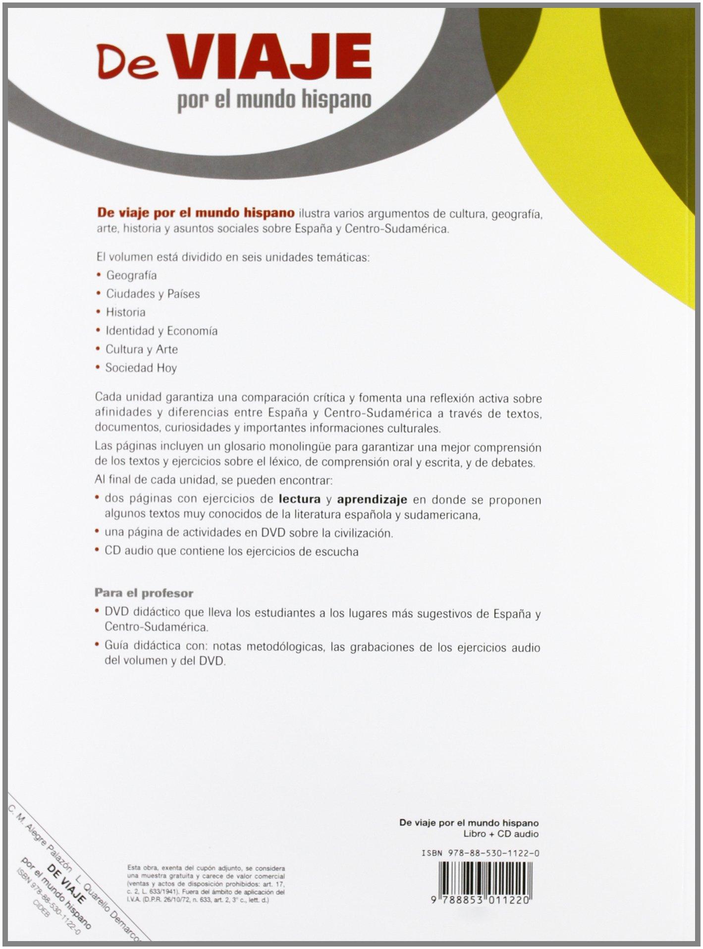 De Viaje Por El Mundo Hispano. Libro +CD Civilizacion: Amazon.es: C.M. Alegre, L. Quarello: Libros