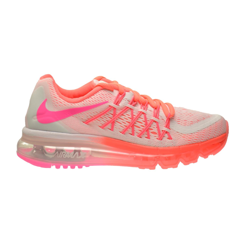 more photos 74511 e8cbe Amazon.com Nike Air Max 2015 (GS) Big Kids Shoes WhitePink Pow-Hot  Lava-Lava Glow 705458-101 Shoes