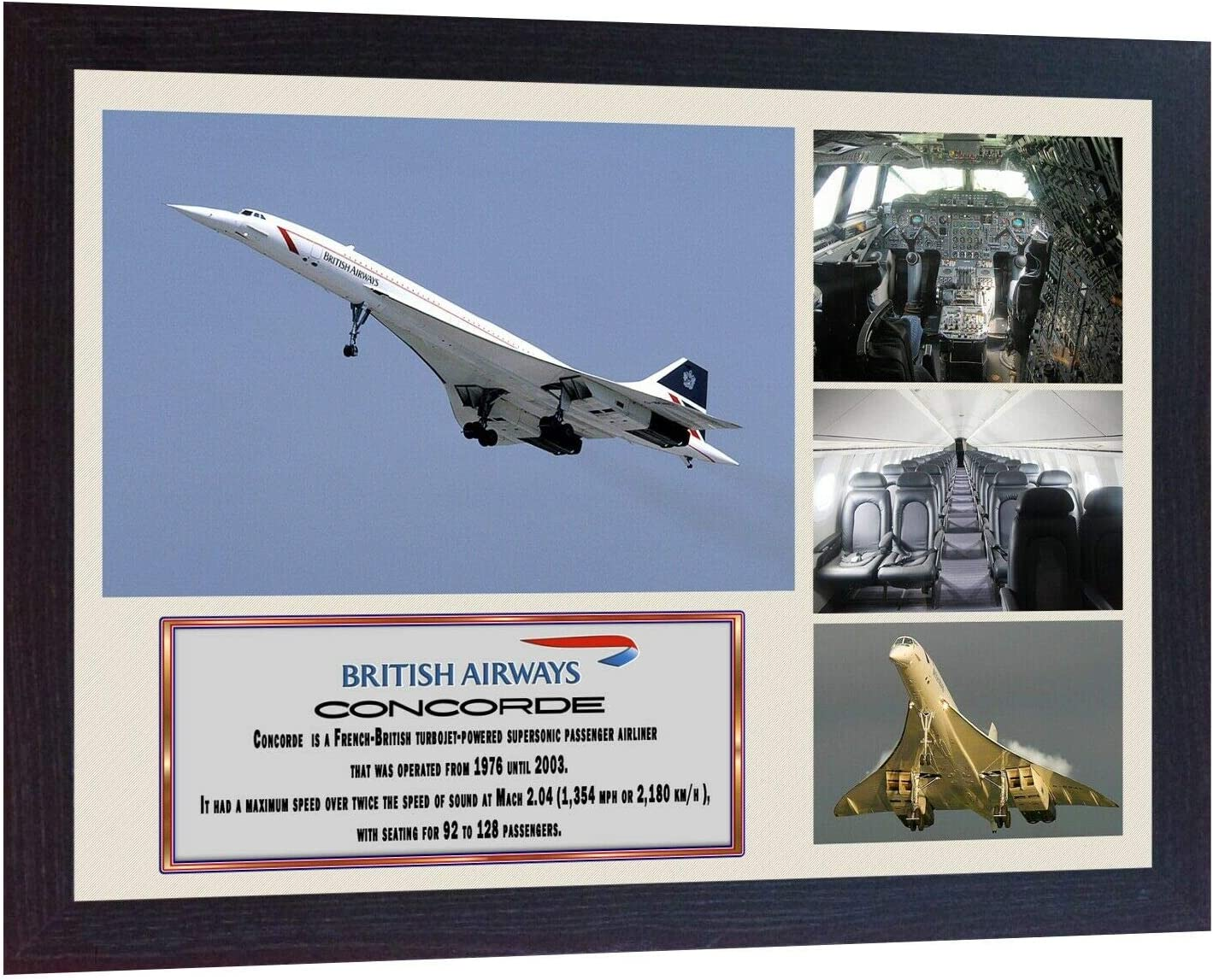 Concorde Framed Photo