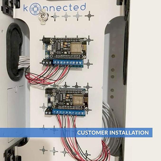 Amazon.com: Kit de conversión de sistema de alarma por cable ...