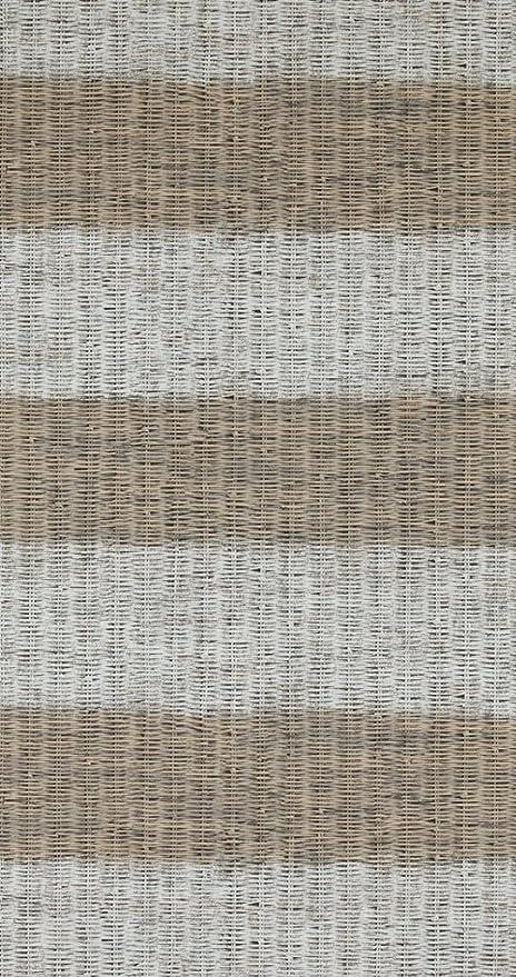 18320 Riviera Maison Rustic Rattan Stripe Beige Grey