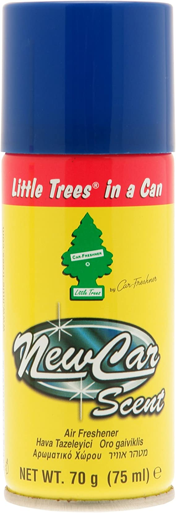 Little Tree In A Can Air Freshener - New Car