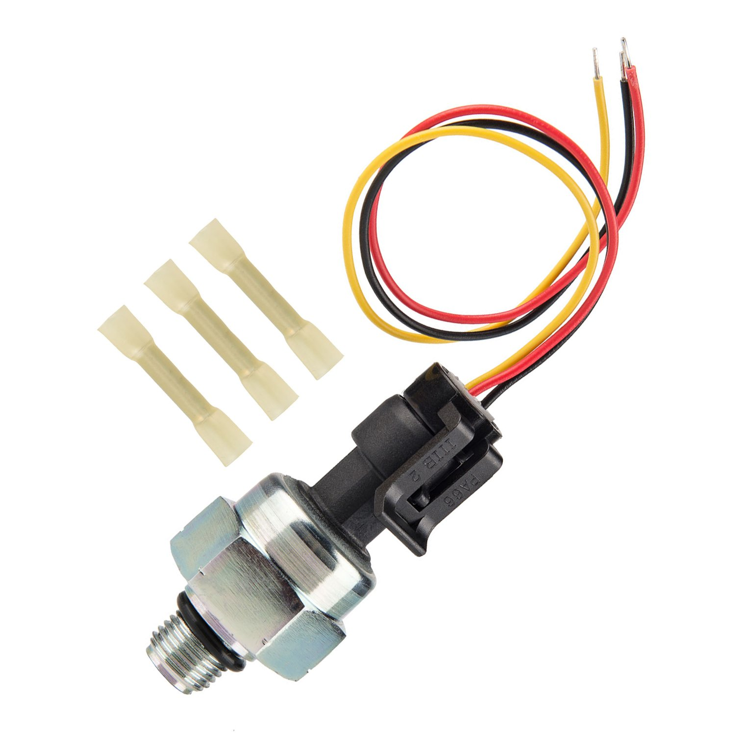 7.3 ICP Sensor for 1997-2003 Ford 7.3L Diesel Engines Powerstroke, Injection Control Pressure Sensor + Pigtail Connectors Harness