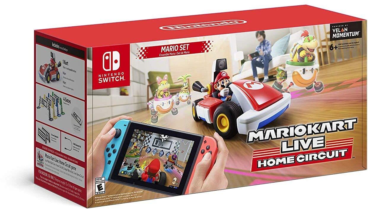 Mario Kart Live: Home Circuit -Mario Set - Nintendo Switch Mario Set Edition
