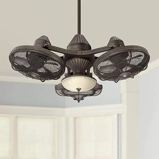 Amazon.com: Lámpara con ventiladores de techo de ...