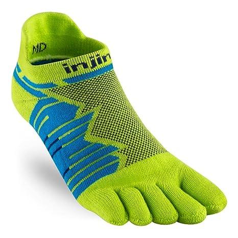 Injinji Socks Rendimiento Ultra correr No Show Calcetines Para Correr LIMA - Lima, Small