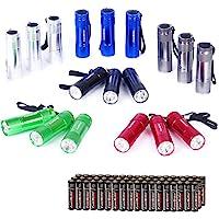 EverBrite 18PCs Mini Linterna Llavero LED, Linternas Portátiles de Aluminio Premium Ligero y Duradero,Mochilero con…