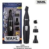 Wahl 5608-524 Mini Groomsman Grooming 3 in 1 Trimmer (Black)